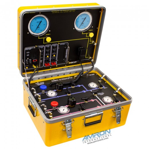Model 8225iC Air Control and Depth Monitoring System for 2 Divers with Communications