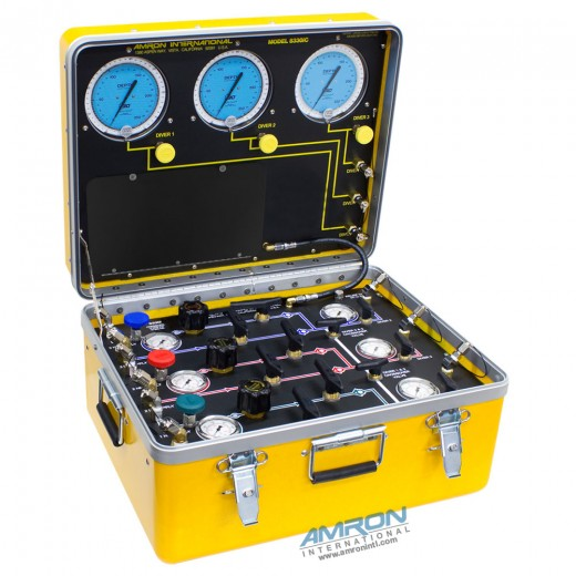 8330i Air Control and Depth Monitoring System for 3-Divers