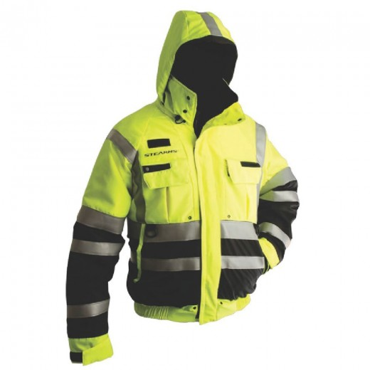 Powerboat Flotation Jacket Bomber Style - Green