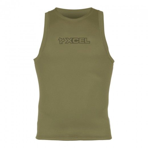 Military 2mm TDC Flatlock Seam Pullover Vest - Crocodile
