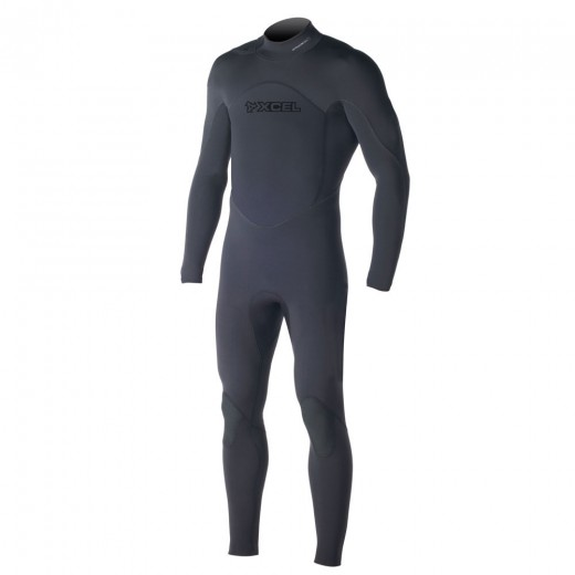 Assault Swimmer 4/3mm TDC Offset Fullsuit - Black
