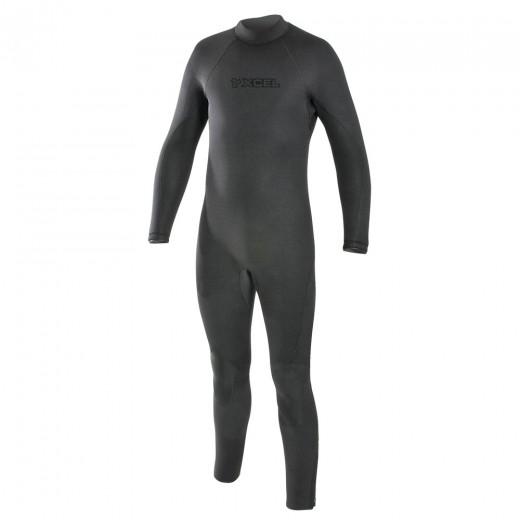 Military Diver 7/6/5mm Hydro Tri-Density Fullsuit - Black
