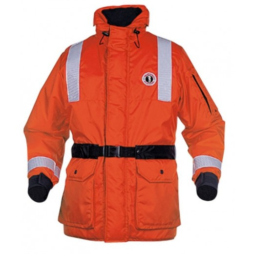 ThermoSystem Plus Coat with Beaver Tail - Orange