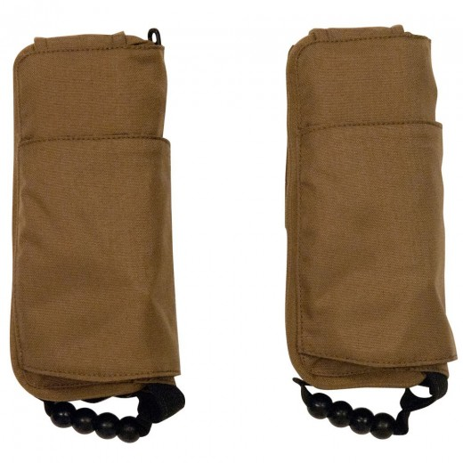 Tactical Inflatable Side Pouch PFD - Sold as Pair - Coyote Tan - Adult Universal