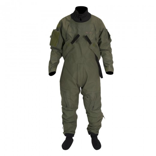 Tactical Aircrew Drysuit System - Sage Green