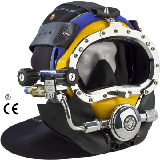 500-026 BandMask® 18 with Male Waterproof Connector