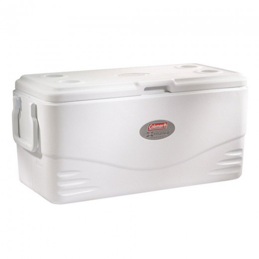 100-Quart Xtreme 5-Day Marine Cooler with Swing Handles - White