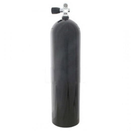 AL80 Aluminum SCUBA Cylinder with Pro Valve - Black