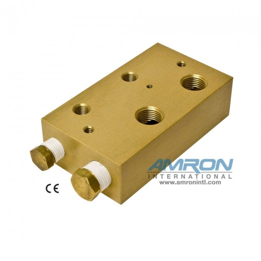 8000-002 Chamber BIBS Manifold Block with 2 Ports