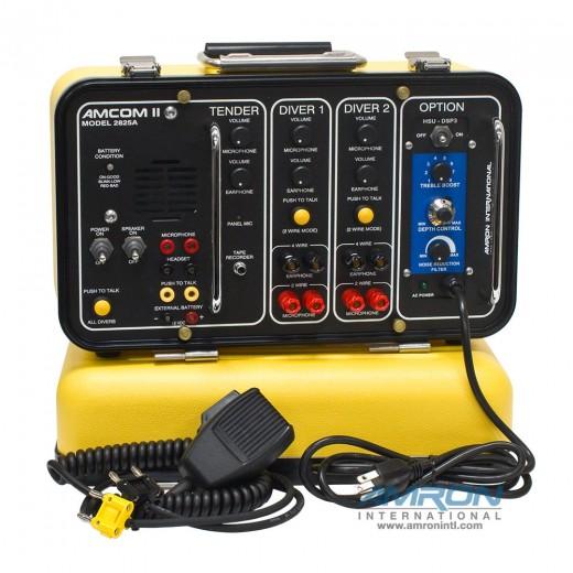 Amcom ™ II 2-Diver DSP3 Portable Helium Speech Unscrambler