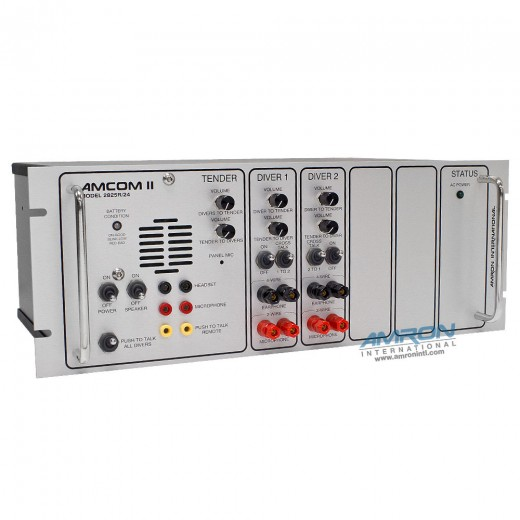 Amcom ™ II 2-Diver Rack Mount Communicator
