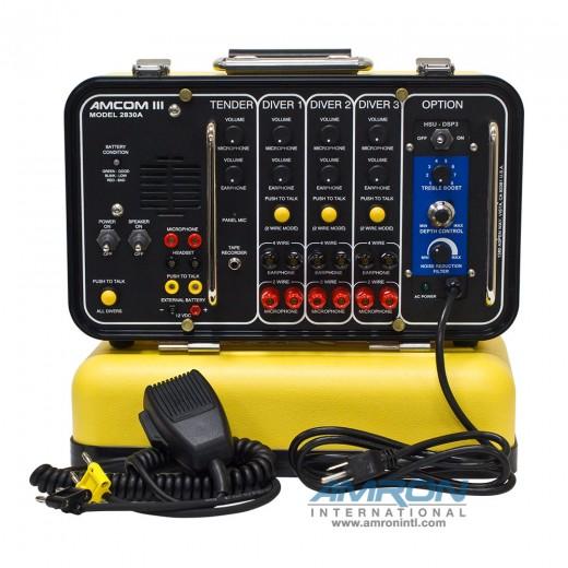 Amcom ™ III 3-Diver DSP3 Portable Helium Speech Unscrambler