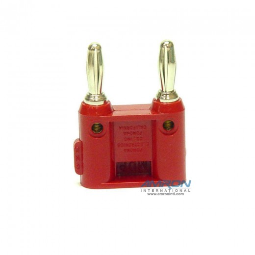 14001R Dual-Pin Banana Plug - Red