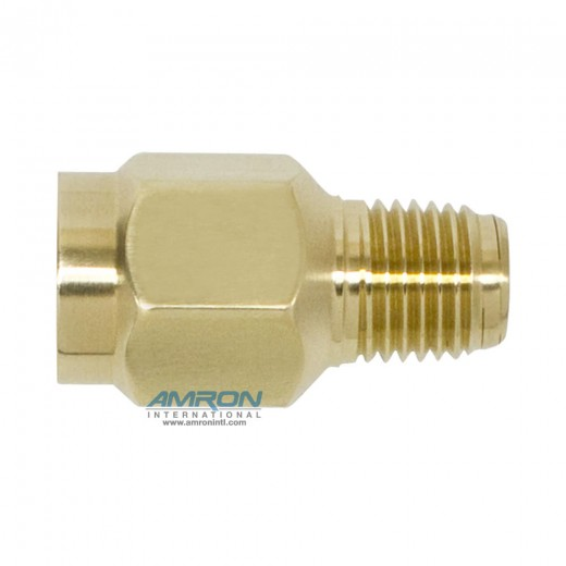 550-0011-01 Snubber - 1/4 in. FNPT x 1/4 in. MNPT Connections - Brass