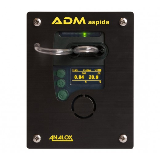 ADMABCDEPG01X ADM Aspida Panel Mount Oxygen/Carbon Dioxide (O2/CO2) Monitor - Universal AC/DC Mains Adapter