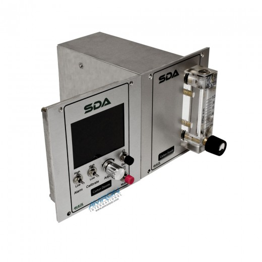 SDAPBBNXA SDA Carbon Dioxide (CO2) Monitor - Panel Mount - 0 to 5000 ppm in N2