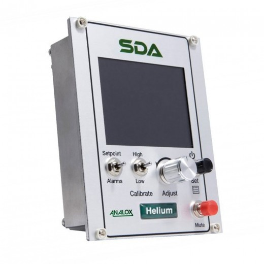 SDAPGKXYAXXX SDA Helium (He) Monitor 0-100% He - Panel Mount with Datalogger
