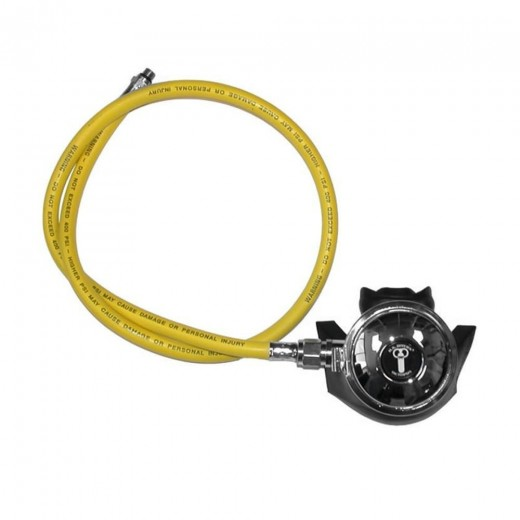Conshelf XIV Octopus Regulator with Yellow LP Hose