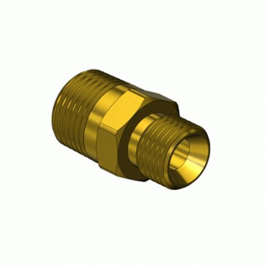 AF-1050 Adapter - 9/16-18RH to 3/8 in. MNPT Brass
