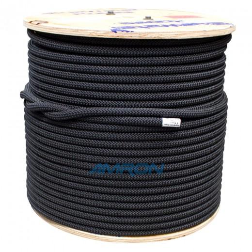 """11mm (7/16"""" x 600ft) Assaultline® Rope - Black"""