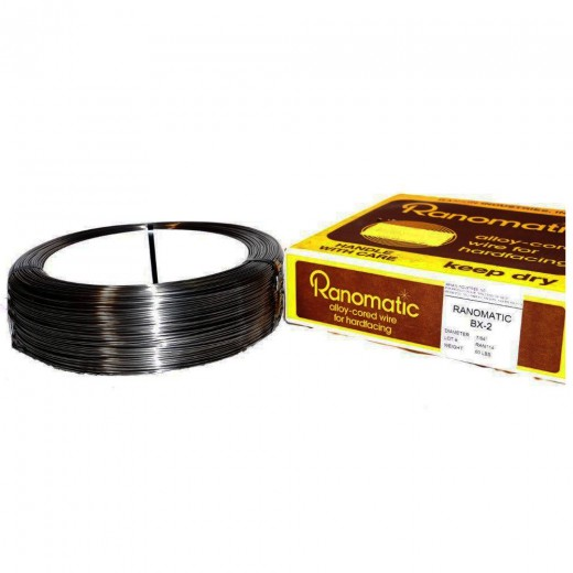 Rankin Ranomatic BX-2 Hardfacing Wire 7/64 Inch Coil WBX2-045M-25
