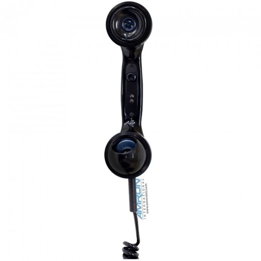 Model H203-U Sound Powered Phone with Unterminated Coiled Retractable Cord
