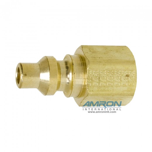 02 - Series 600 1/4 in. FNPT Plug in Brass