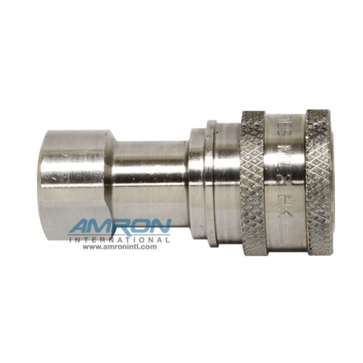 ML2-H16 - 2-HK SRS Socket 2-Way 1/4 in. FNPT in Stainless Steel (316)