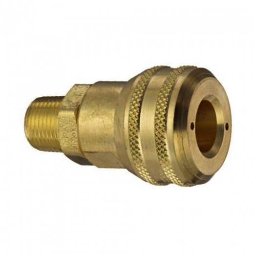 Series 3000 Female NPT End Connection Socket - 3/8 in. FNPT in Brass