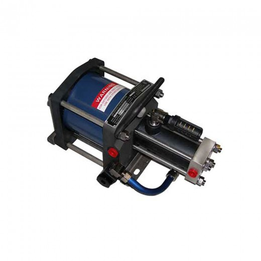 5G-SS-14 Booster Pump - Single Action; Single Drive; Single Stage; 2,100 psi Max Outlet; 100 psi Min Inlet Pressure
