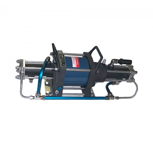 5G-TS-14/30 Booster Pump - Two Stage; Single Drive; 8,435 psi Max Outlet; 60 psi Min Inlet Pressure
