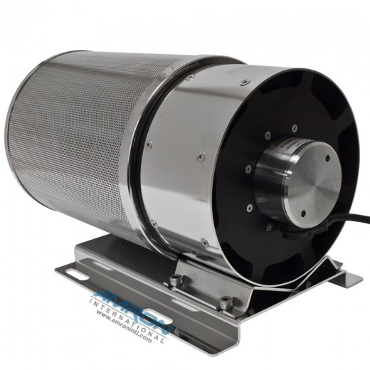 Carbon Dioxide (CO2) Scrubber with Canister and Bracket - External Speed Control