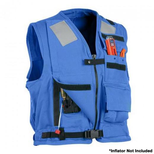U.S. Navy MK1 Inflatable Vest  - Blue