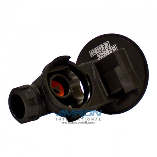 336-101-156 Valve Housing without Positive Pressure (Black) for the MK II