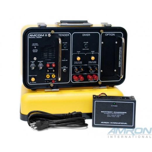 Amcom ™ II 2-Diver Standard Rechargeable Portable Communicator