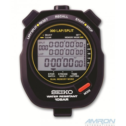 S141 Multi Function Stopwatch Black