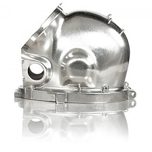 560-517 Stainless Steel Helmet Shell