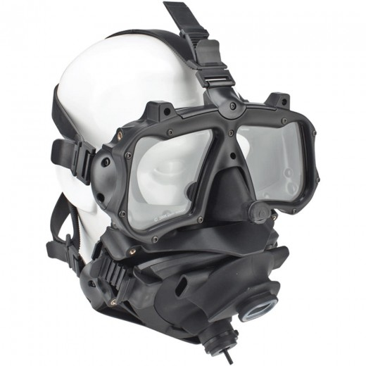 M-48 Mod 1 Full Face Mask - With Pod