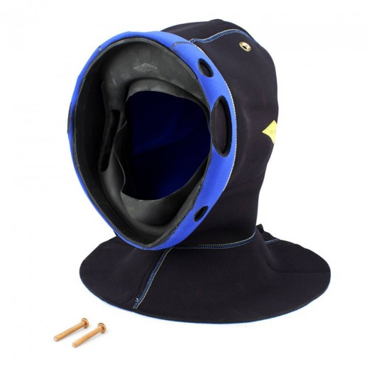 525-737 KMB 18 Hood (Medium/Large) with Molded Face Seal (Large)