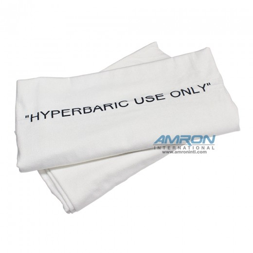 Single Hyperbaric Blanket - 100% Cotton Flannel - 72 in. x 90 in.