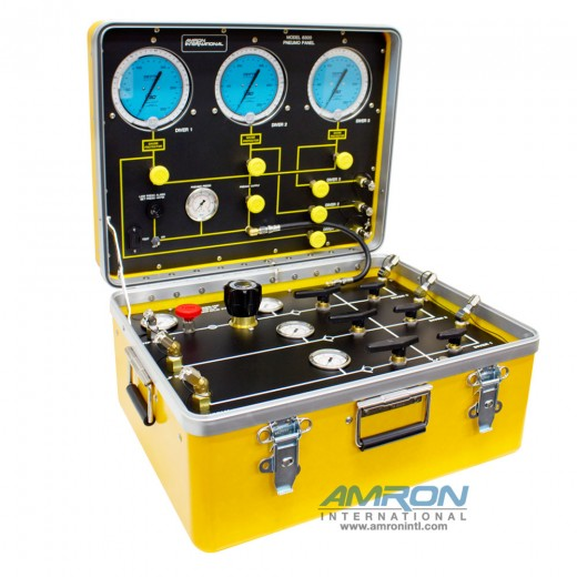 Model 8300-HP Air Control and Depth Monitoring System for 3 Divers 1 Regulator and 2 Low Pressure Inputs