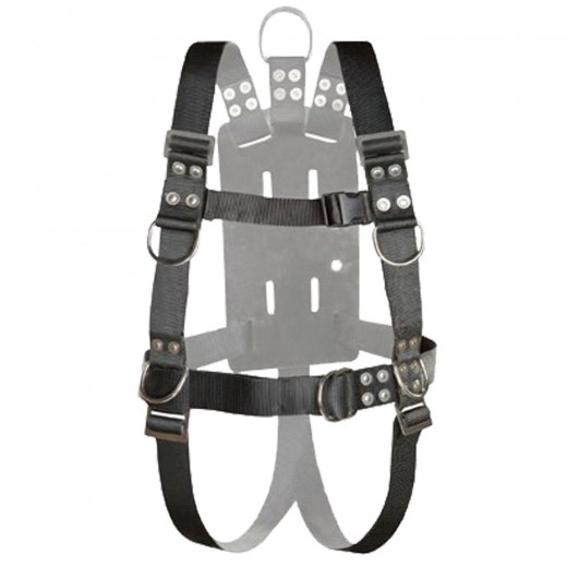NSBB-16510 Full Body Harness with Shoulder Adjusters - X-Large