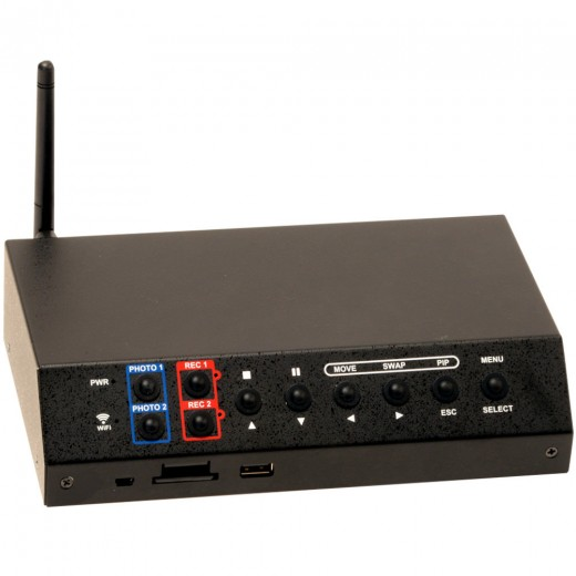 OTI-960-2A 2-Channel Digital Video Recorder with Picture-In-Picture