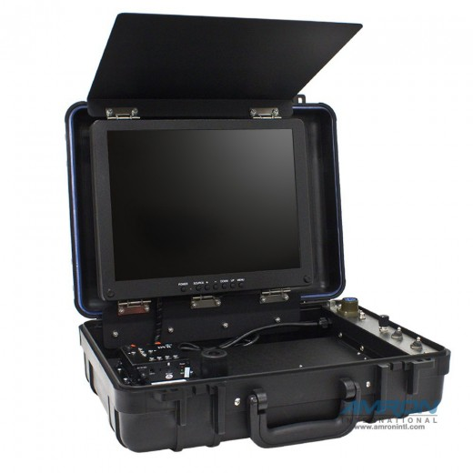 OTI-UWS-3310E Complete Portable Color Video System with LED Light - PAL