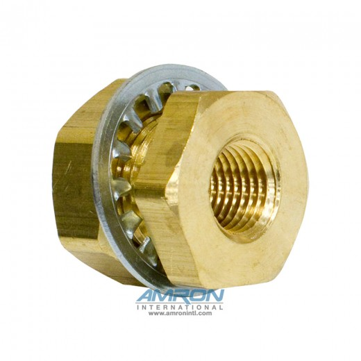 207ACBHS-4 Anchor Coupling 1/4 inch FNPT .94 inch length - Brass