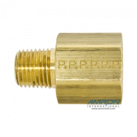 FG-B-3/8X1/4 Expander Adapter 3/8 x 1/4 inch NPT - Brass