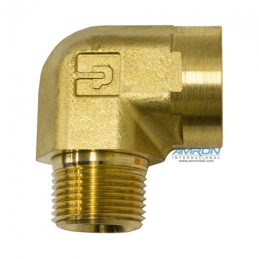 CD-B-3/4 - CD Female Street Elbow 3/4 inch NPT - Brass