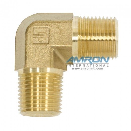 CR-B-1/2 - CR Male Pipe Elbow 1/2 inch NPT - Brass