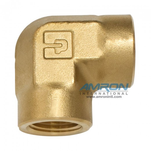 DD-B-1/4 DD Female Pipe Elbow 1/4 inch NPT - Brass