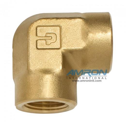 DD-B-1/2 DD Female Pipe Elbow 1/2 inch NPT - Brass